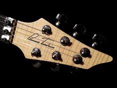Bruno Traverso Guitars Silky headstock