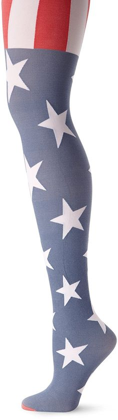 Pretty Polly Women's Usa Flag Tight >>> This is an Amazon Affiliate link. Check out this great product.