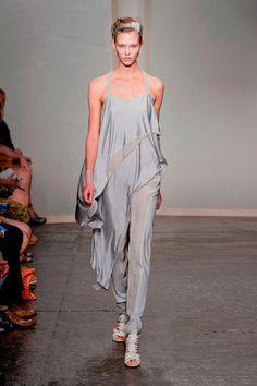 Donna Karan Ice Grey Fashion tones Sprin Summer 2013