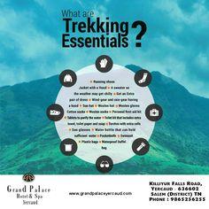 #TrekkingTips #Yercaud Visit http://www.grandpalaceyercaud.com/offers.htm Call: 9865256255 / 9965556255