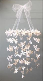 Want to make this but more like a chandelier, for Baby M's room