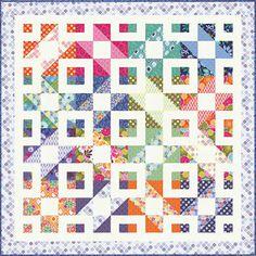 Lots of quilt patterns (free) at Moda Fabrics.