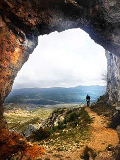 Penya Forada, Vall de Gallinera.
