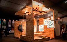 Decofilia Blog   El encanto de la madera en el diseño de stands