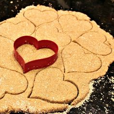 Homemade Apple Peanut Butter Dog Treats- healthy and delicious and so much…