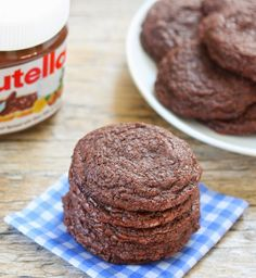 4 Ingredient Chewy Nutella Cookies | Kirbie's Cravings | A San Diego food & travel blog