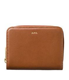 2f912c7197a8fd A.P.C. Compact wallet | usonline.apc.fr | free shipping Zip Around Wallet,