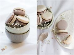 Earl Grey Cassis Macarons | Now, Forager | Teresa Floyd Photography