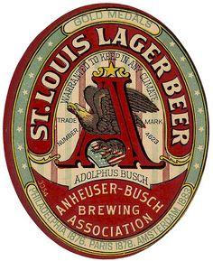 Anheuser-Busch vintage logo