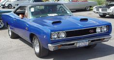 1968 Dodge Coronet - Blue - Front Angle