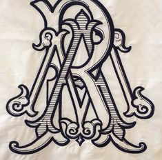 Monograms from Number Four Eleven in Savannah, GA