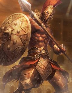 Captum by Yutthaphong Kaewsuk on ArtStation. Fantasy Art Men, Fantasy Armor, Spartan Tattoo, Roman Warriors, Spartan Warrior, Greek Warrior, Warrior Tattoos, Deviant Art, God Of War