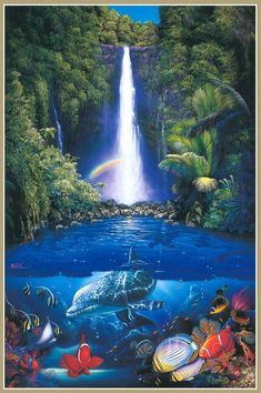 Seascapes from Hawaii Christian Ries Lassen (Christian Riese Lassen) (396 works)