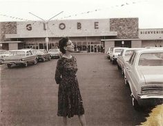 Globe Supermarket, circa 1960's. (Photo from Facebook Group McAllen: Yesterday and Today.)