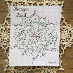 Crochet Snowflake Pattern, Crochet Motif Patterns, Crochet Snowflakes, Crochet Mandala, Crochet Diagram, Crochet Chart, Thread Crochet, Crochet Stitches, Crochet Tablecloth