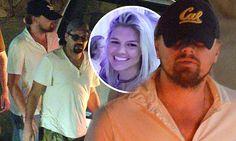 Leonardo DiCaprio parties with his bro posse atNikki Beach St. Barth