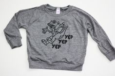 A Land Before Time Ducky kids raglan pullover (OH MY WORD!)