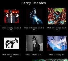 Dresden Files - Harry Dresden's Reputation