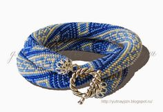 "Photo from album ""Схемы жгуты"" on Yandex. Bead Crochet Rope, Stone Beads, Bracelets, Accessories, Beautiful, Yandex, Jewelry, Jewlery, Jewerly"