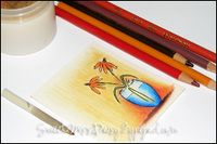 Anna Wright gives tips on Prismacolor Pencil & Gamsol use on her blog Sassy & Sweet  (dup pin-already on Art-Prismas)