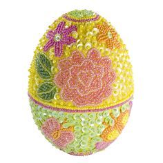 i want this beau Godiva Easter egg, its all beaded and sequinned 'p