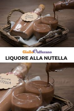Homemade Wine Recipes, Croissant Recipe, Cold Brew Coffee Maker, Limoncello, Gelato, Recipe Steps, Vegetable Drinks, Alcohol Recipes, Smoothie Drinks