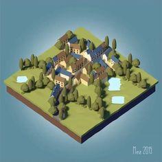 El artista alemán Lars Mezaka publica una miniserie con 4 tutoriales donde explica cómo modelar tu primera escena lowpoly con la ayuda de Blender.