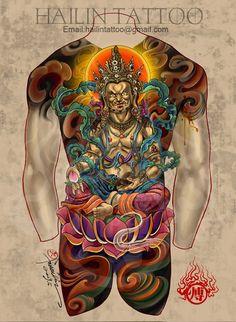 Hailin Fu Tattoos
