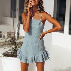 Sling Lace Mini Dress Skirt – juliettemode