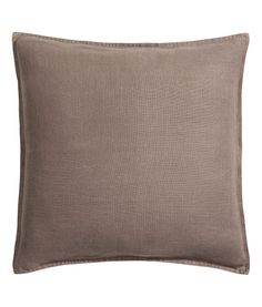 Linen cushion cover | Product Detail | H&M