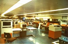 ME29 Machine Room at ICL Feltham 1981 by Wade's World, via Flickr