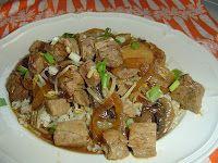 A Girl's Gotta Eat: Slow Cooker Pork Chow Mein