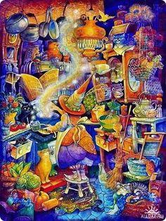 Сказочные иллюстрации / Bill Bell