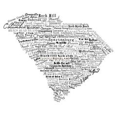South Carolina - I want this print for the house.