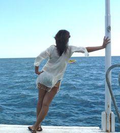 Turkish Towel Beach Dress Peshtemal natural cotton by TheAnatolian