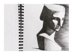 2013'te yapmışım bunu. Resme ara vermeseydim, şimdi neler gösterebilirdim kendime ve size? Neyse ki hepsi kafamda. Ve yakındalar.  #drawing #sketch #art