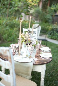 Romantic garden style
