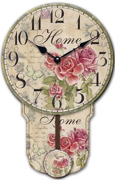 Giz Home  B Plus Saat Home Rose Model Saat : 44,90 TL   evmanya.com