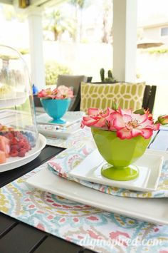 5 Tips to Make Your Table Naturally Amazing for Summertime Entertaining! #naturallyamazing #ad #frenchs