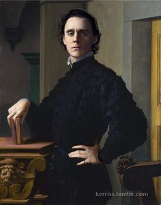 another Loki Painting for fun Original by Bronzino