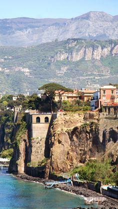 Sorrento, Italy My all time favorite place to visit along the Amalfi coast. Places Around The World, Oh The Places You'll Go, Places To Travel, Places To Visit, Around The Worlds, Naples, Wonderful Places, Great Places, Beautiful Places