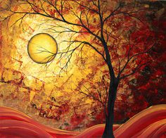 THE GOLDEN YEARS Print Megan Aroon Duncanson Art Painting at ArtistRising.com