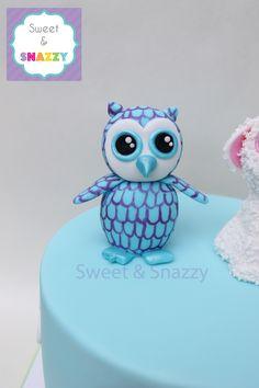 ecfaacc713c Beanie Boos - Oscar The Owl cake topper - fondant Beanie Boos by Sweet  amp