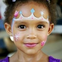 face paint crown - Google Search