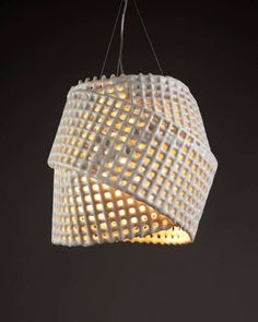 Twisted Luminous Mesh Decor - plastidipped mesh/tape
