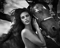 www.pegasebuzz.com | The Fashion Horse : Emily Didonato by Vincent Peters for Vogue ltalia, november 2013
