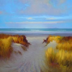 Richard Robinson Gallery - Impressionist Landscape Oil Paintings, DVD Lessons, Learn How to Paint. Impressionist Landscape, Abstract Landscape Painting, Landscape Paintings, Landscapes, Seascape Paintings, Oil Paintings, Beach Paintings, Boat Painting, Painting Art