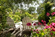 garden nook at Beltane Ranch in Sonoma Valley - it is what my garden hopes to be when it grows up