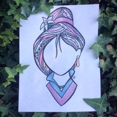Mulan zentangle