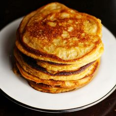 Paleo Coconut Flour Pancakes. A healthy breakfast that the whole family will love!